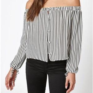 LA Hearts blouse